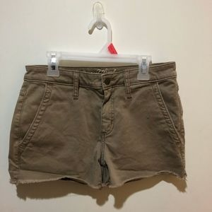 Tan Universal Thread Shorts
